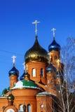 Ortodoksalna parafia St Seraphim Sarov obraz royalty free