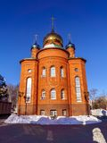 Ortodoksalna parafia St Seraphim Sarov fotografia stock