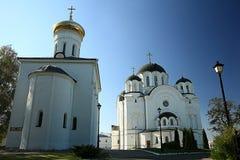 Ortodoksalnego kościół świątynia zdjęcie royalty free