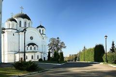 Ortodoksalnego kościół świątynia Obrazy Royalty Free