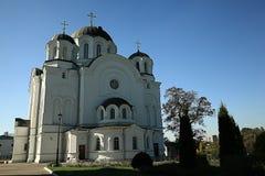 Ortodoksalnego kościół świątynia obraz stock