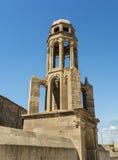 Ortodoksalnego kościół Dzwonkowy wierza świętego Theodoros Trion derinkuyu, Turcja fotografia royalty free