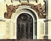 Ortodoksalnego kościół sztuki arhitecture kaplica Obraz Royalty Free