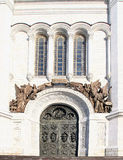 Ortodoksalnego kościół sztuki arhitecture kaplica Zdjęcie Stock