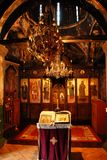 Ortodoksalnego kościół wnętrze Zdjęcie Stock