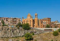Ortodoksalni punkty zwrotni w Yerevan, Armenia fotografia stock