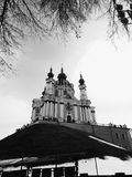 Ortodoksalny Barokowy kościół St Andrew& x27; s kościół Obraz Stock