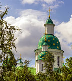 Ortodoksalny Chrześcijański monaster Zdjęcie Royalty Free