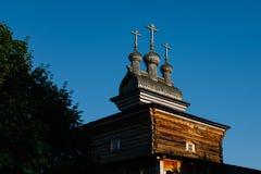 Ortodoksalny chrześcijaństwo kościół w Rosja fotografia royalty free