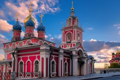 Ortodoksalny chrześcijaństwo kościół w Rosja obraz stock