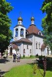 Ortodoksalny kościół Świątobliwy Princess Olga Zdjęcia Royalty Free