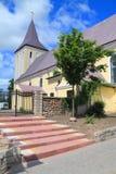 Ortodoksalny kościół święty John prekursor w Gvardeysk zdjęcia royalty free