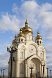 Ortodoksalny kościół Fotografia Stock