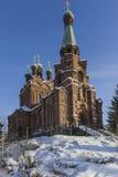 Ortodoksalny kościół Obrazy Stock