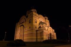 Ortodoksalny kościół Apatin Zdjęcia Royalty Free