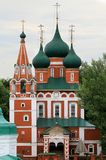 Ortodoksalny kościół chrześcijański Obrazy Royalty Free