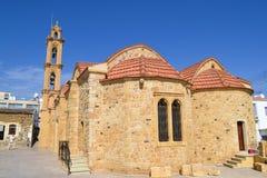 Ortodoksalny kościół cypryjczyk Cypr i Ustinya Obraz Stock
