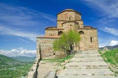 Ortodoksalny kościół Djvari zdjęcie royalty free