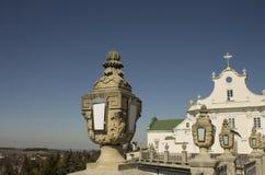 Ortodoksalny kościół i klasyczna architektura Zdjęcie Stock