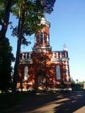 Ortodoksalny kościół Przecinający 1868 fotografia stock
