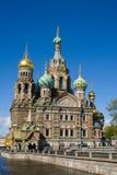 Ortodoksalny kościół St. Petersburg. Zdjęcia Stock