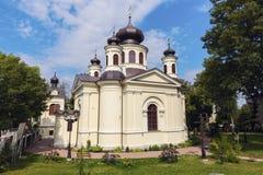 Ortodoksalny kościół w Chełmskim, Polska Zdjęcie Royalty Free