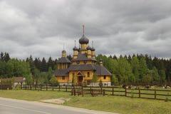 Ortodoksalny kościół w Dudutki zdjęcie royalty free