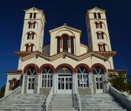 Ortodoksalny kościół w NEIPORI Zdjęcia Stock