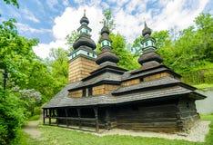 Ortodoksalny kościół w Praga zdjęcia stock