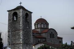 Ortodoksalny kościół w Stavros, Grecja Zdjęcie Stock