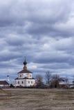Ortodoksalny kościół w Suzdal Fotografia Royalty Free