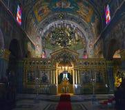 Ortodoksalny kościół Zakintos Obrazy Royalty Free