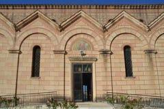 Ortodoksalny kościół Zakintos Zdjęcia Royalty Free