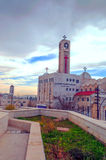 Ortodoksalny kościół Amman Fotografia Royalty Free