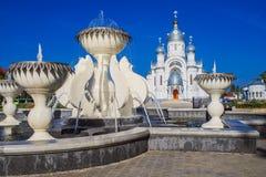 Ortodoksalny kościół archanioł Michael Obrazy Royalty Free