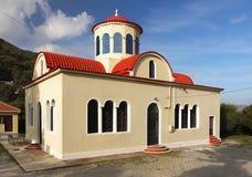 Ortodoksalny kościół Crete Grecja Zdjęcie Royalty Free