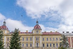 Ortodoksalny Teologiczny alumnat, cluj, Rumunia Obraz Royalty Free