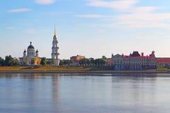 Ortodoksyjna świątynia w Rybinsk. Rosja Obrazy Stock