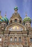ortodoksyjna kościelna kopuła Zdjęcie Royalty Free