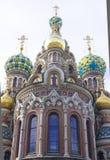 ortodoksyjna kościelna kopuła Obraz Royalty Free