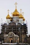 ortodoksyjna kościelna budowa Zdjęcie Royalty Free