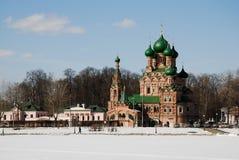 ortodoksyjna Moscow świątynia Zdjęcia Royalty Free