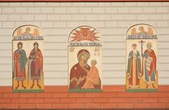 ortodoksyjni katedralni irkutsks Fotografia Royalty Free