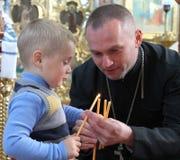 ortodoksyjny ksiądz Obraz Stock
