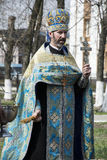 ortodoksyjny ksiądz fotografia royalty free