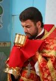 ortodoksyjny ksiądz Obraz Royalty Free