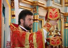 ortodoksyjny ksiądz Obrazy Royalty Free