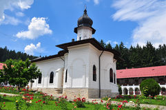 ortodoksyjny monasteru romanian Zdjęcie Stock