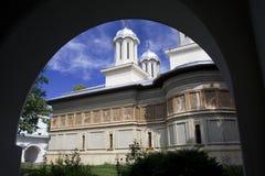 ortodoksyjny romanian klasztoru Zdjęcia Stock