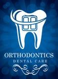 ortodoncia ilustración del vector